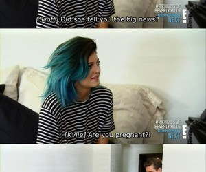 kylie jenner, funny, and scott disick image