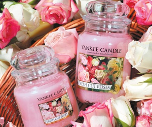 candle, lovely, and yankee candle image