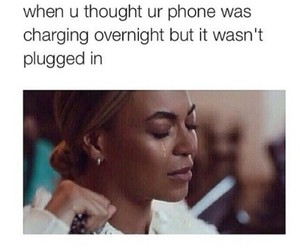 funny, phone, and beyoncé image