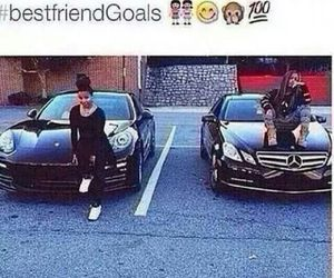 car and goals image