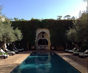 africa, holiday, and marrakech image