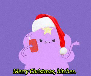 christmas and adventure time image