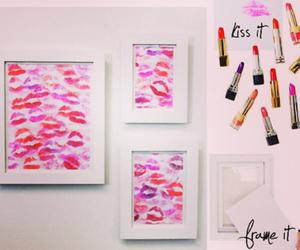 kiss, diy, and lips image