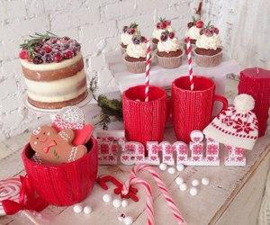 food, christmas, and еда image