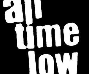 all time low, alex, and band image