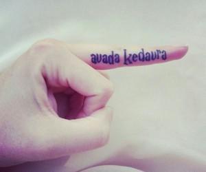 harry potter, avada kedavra, and tattoo image