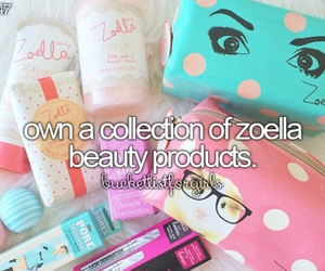 girly, bucket list, and zoella image