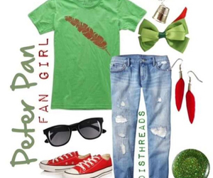clothes, outfit, and peter pan image