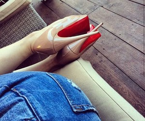 classy, fashion, and heels image