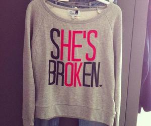 broken, her, and ok image