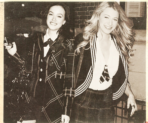 gossip girl, blair, and leighton meester image