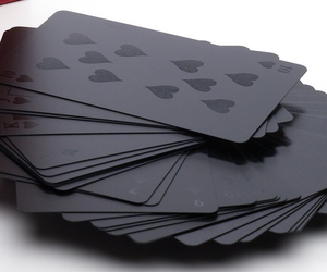 black and cards image