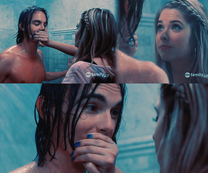 boy, shower, and ashley benson image