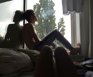 boy, smoke, and couple image