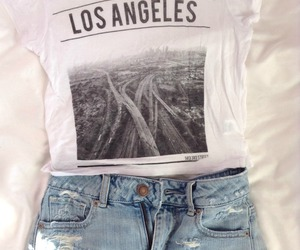 fashion, outfit, and los angeles image