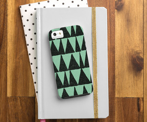 cell phone case, midcentury turquoise, and apple iphone 5 6 image