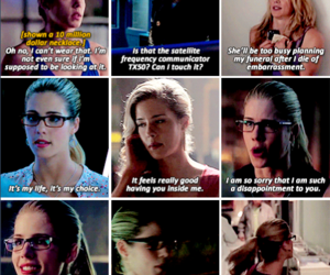 arrow, Felicity, and felicity smoak image