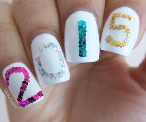 nails, 2015, and nail art image