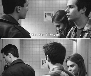 teen wolf, lydia martin, and stiles image