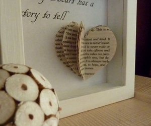 heart, diy, and story image