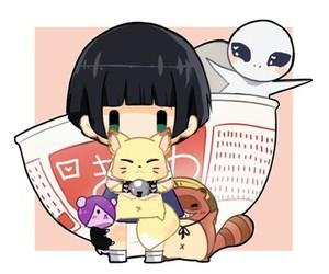 anime, manga, and kokkuri san image