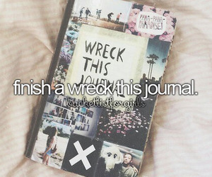 journal, bucket list, and wreck this journal image