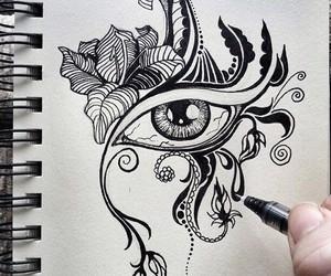 art, nice, and drawing image