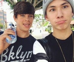 hayes grier, carter reynolds, and magcon image