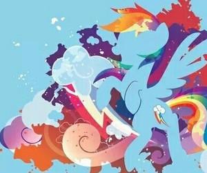 MLP and rainbow dash image