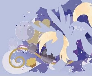 bubbles, MLP, and derpy image