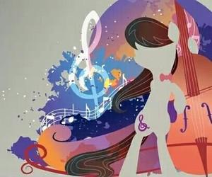music, pony, and octavia image