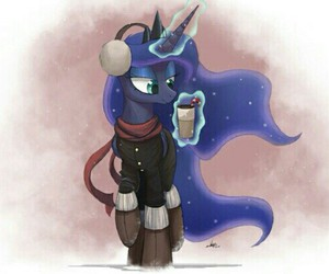 MLP, luna, and winter image