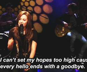quote, demi, and demi lovato image