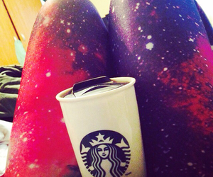 galaxy, happiness, and coffee image