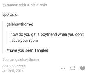 bedroom, tangled, and boyfriend image