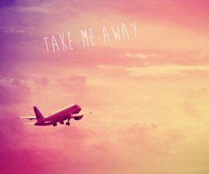 away, fly, and me image