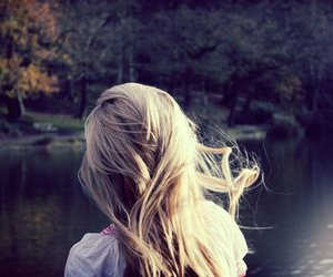 hair and pond image
