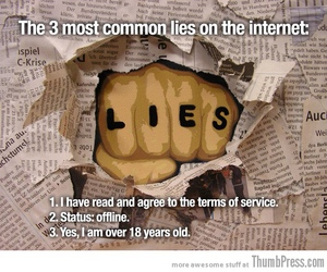 lies, funny, and internet image