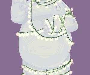 art, christmas, and disney image