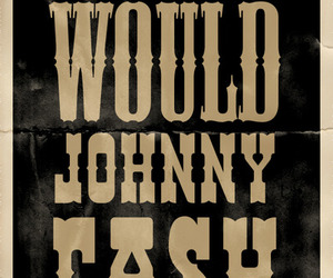 cash, johnny, and poster image