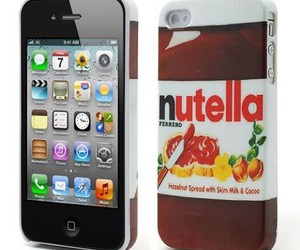 nutella, coque, and iphone image