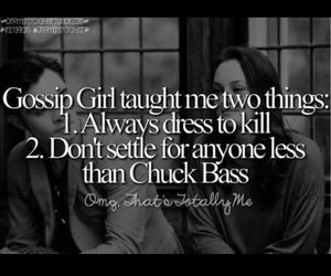 blair waldorf, chuck bass, and dan humphrey image