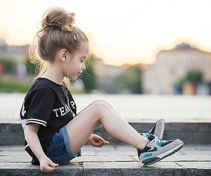 child, cool, and fille image