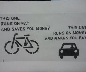 bike, car, and funny image