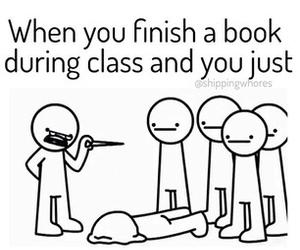 book, class, and fandom image