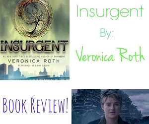 insurgent, veronica roth, and divergent image