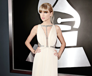 Taylor Swift, dress, and awards image