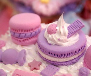 pink, purple, and sweet image