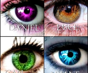 angel, daniel, and fallen image