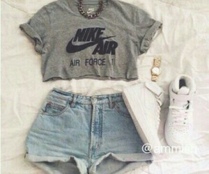 air force one, girl, and outfit image